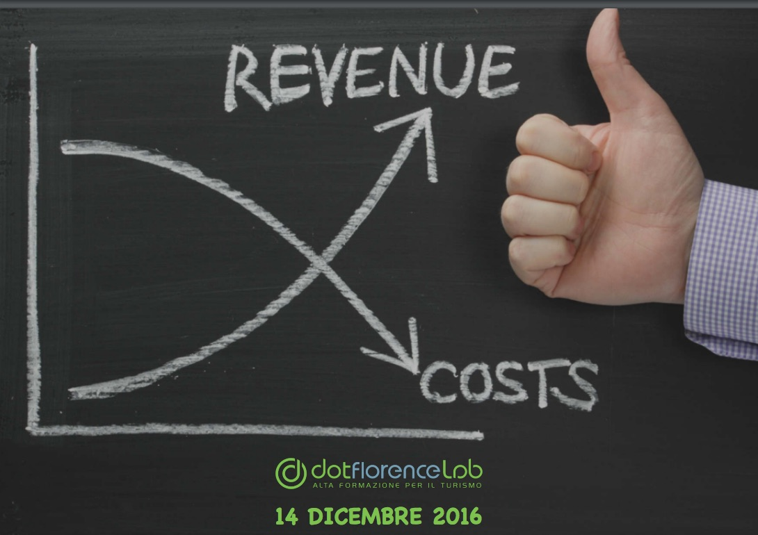 Dotflorence Lab 14 Dicembre 2016 - Revenue Management turistico