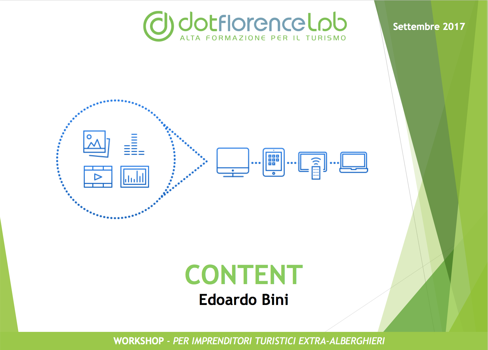 Dotflorence Lab 27 Settembre 2017 - Content Strategies